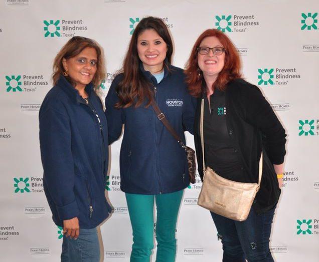Staff and Board Members at Houston Walk